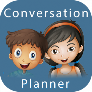 The Conversation Planner app teaches your child a step by step method to prepare for any social situation.